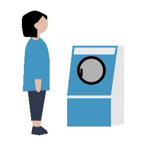 洗濯機使い方の手順イラスト3
