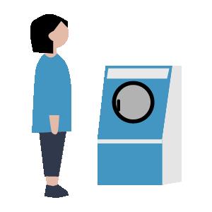 洗濯機使い方の手順イラスト5