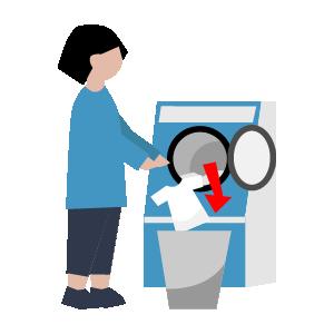 洗濯機使い方の手順イラスト6