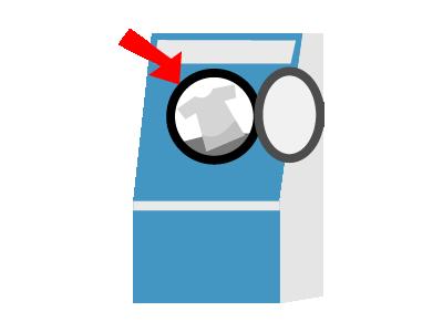 洗濯するとき注意することイラスト4